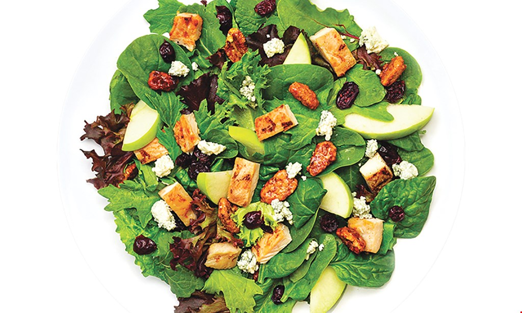 Product image for Saladworks ½ Off any salad with the purchase of a salad of equal or greater value.