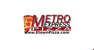 Product image for Metro Express Pizza (Elizabethtown) $2 Off any order of $10 or more
