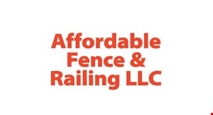 Product image for Affordable Fence & Railing LLC $100 off any installed fence.