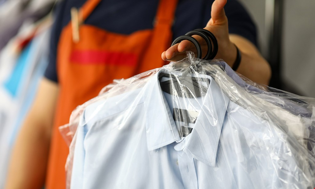 Product image for CD One Price Cleaners One free dry cleaned garment with the purchase of 10 dry cleaned garments.