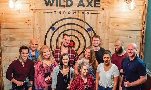Product image for Wild Axe Throwing Take $3 off per person at Wild Axe Throwing