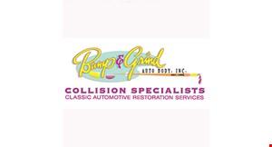 Bump & Grind Auto Body, Inc. logo