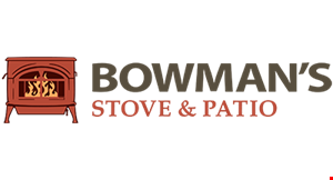 Product image for Bowman's Stove & Patio 10% off any purchase.