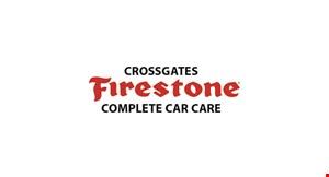 Cross Gates Firestone logo