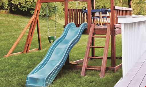 Product image for Bergen County Swingsets  Free Glider