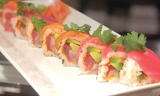 Product image for Sushi Diva Japanese Restaurant $15 off sushi combo party platter.