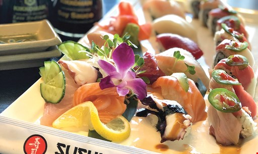 Product image for Sushi Diva Japanese Restaurant $15 off sushi combo party platter.