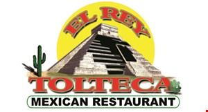 El Rey Tolteca logo