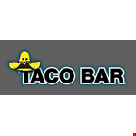 Product image for Taco Bar - Gaithersburg $5 OFF your check of $25 or more.