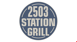 2503 Station Grill logo