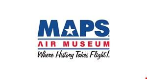 MAPS Air Museum logo