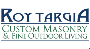 Product image for Roy Targia Masonry $600 Off any job of $3500 or more.