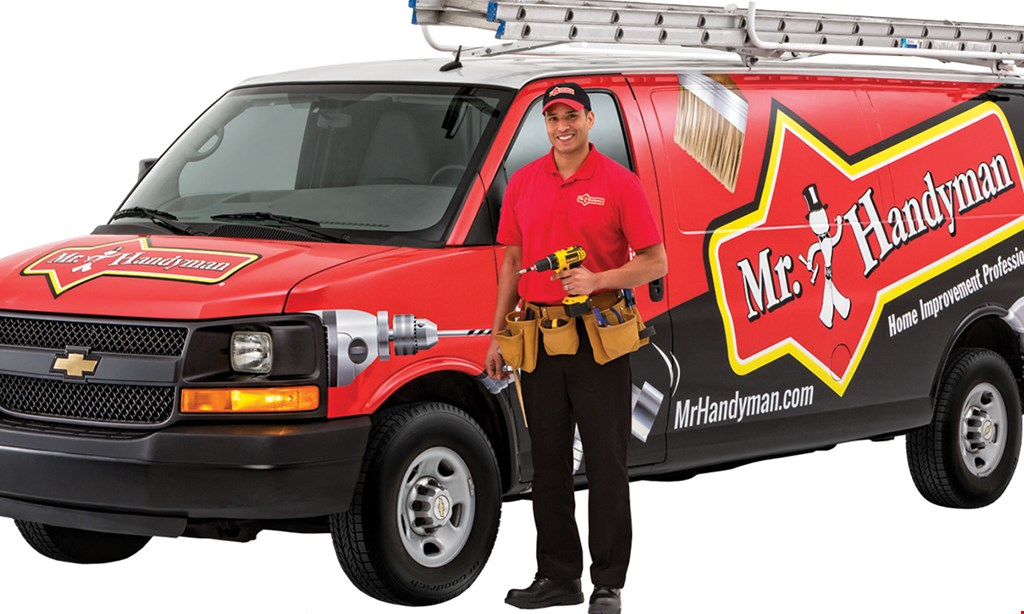 Product image for Mr. Handyman Of Pittsburgh East Suburbs & Greensburg $50 OFF This coupon is valid for $50 worth of services provided by Mr. Handyman