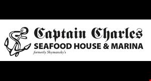 Captain Charles Restaurant logo