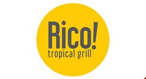 Rico! Tropical Grill logo