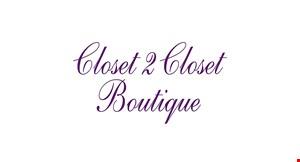 Closet 2 Closet Boutique logo