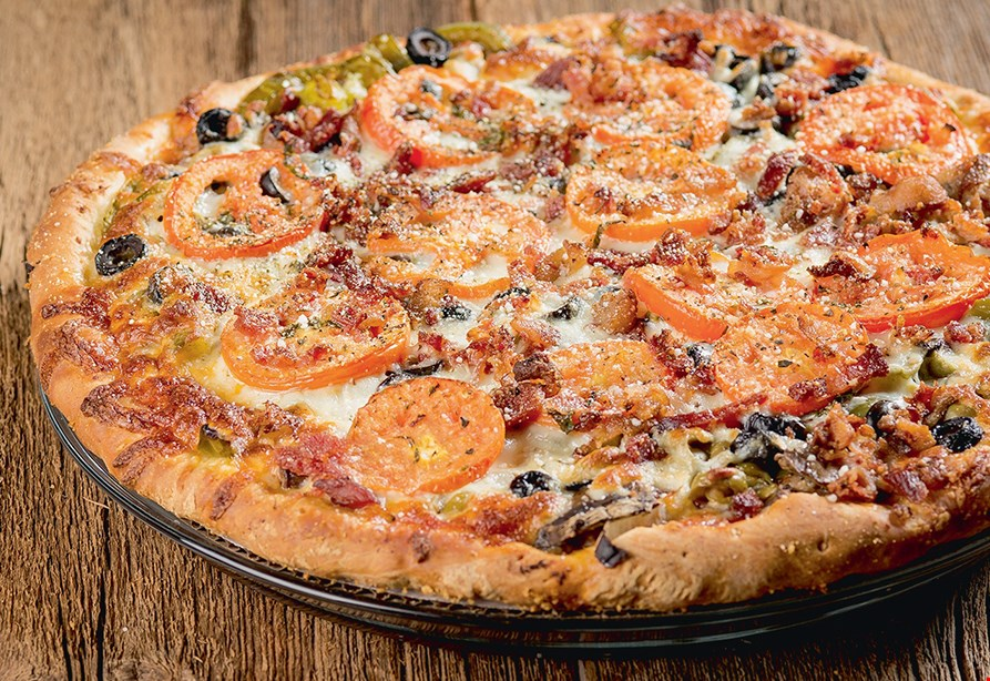 """Product image for Papa Saverio's Pizzeria FREE 12"""" thin crust cheese pizza with purchase of any 18"""" Pizza."""