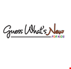 Guess What's New For Kids logo
