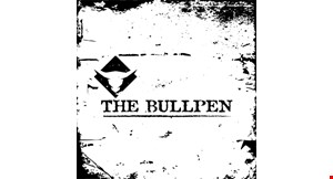 Product image for The Bullpen Neighborhood Grill $3 off any purchase of $15 or more OR $5 off any purchase of $25 or more.
