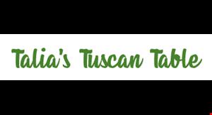 Talia's Tuscan Table logo