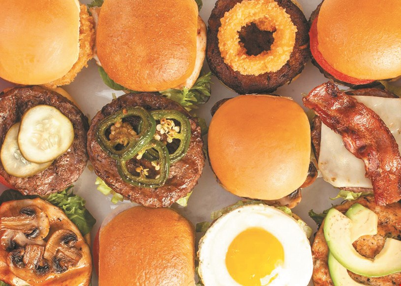 Product image for BurgerIM 2 can dine for $16.99 2 Big Angus Burgers, 2 fries, 2 drinks.