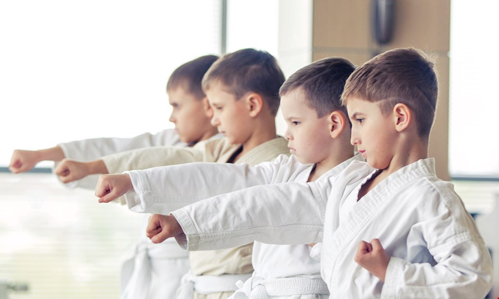Product image for Us World Class Tkd only $29 2 weeks of class (2 classes per week) plus a free uniform.