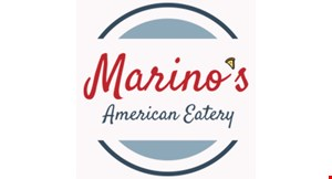 Product image for Marino's American Eatery $2 off any size pizza.