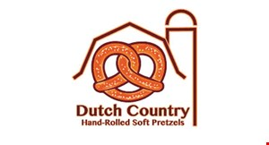 Product image for Dutch Country Hand-Rolled Soft Pretzels (Mount Joy) $2 OFF any purchase of $10 or more.