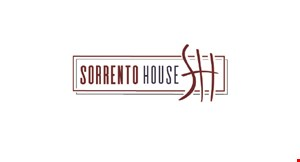 Product image for Sorrento House $5 off any purchase of $25 or more