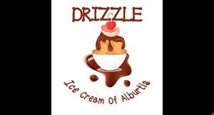 Drizzle Ice Cream of Alburtis logo