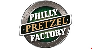 Product image for Philly Pretzel Factory 10% OFF entire purchase