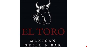 Product image for El Toro Mexican Grill & Bar $2 off lunch purchase of $15 or more