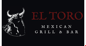 Product image for El Toro Mexican Grill & Bar $2 OFF lunch purchase of $15 or more.