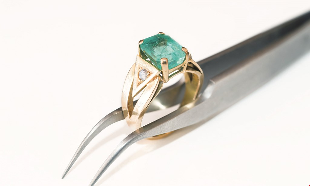 Product image for Jewelry Repair Service Center $5 off same-day ring resizing.