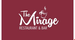 Product image for The Mirage Restaurant & Cafe $10 OFF delivery of $40 or more.