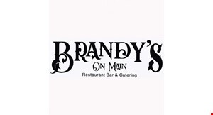Product image for Brandy's On Main Up to $20 off!