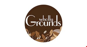 Wholly Grounds Coffee Shop logo