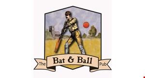 The Bat & Ball Pub logo