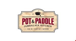 Pot & Paddle logo