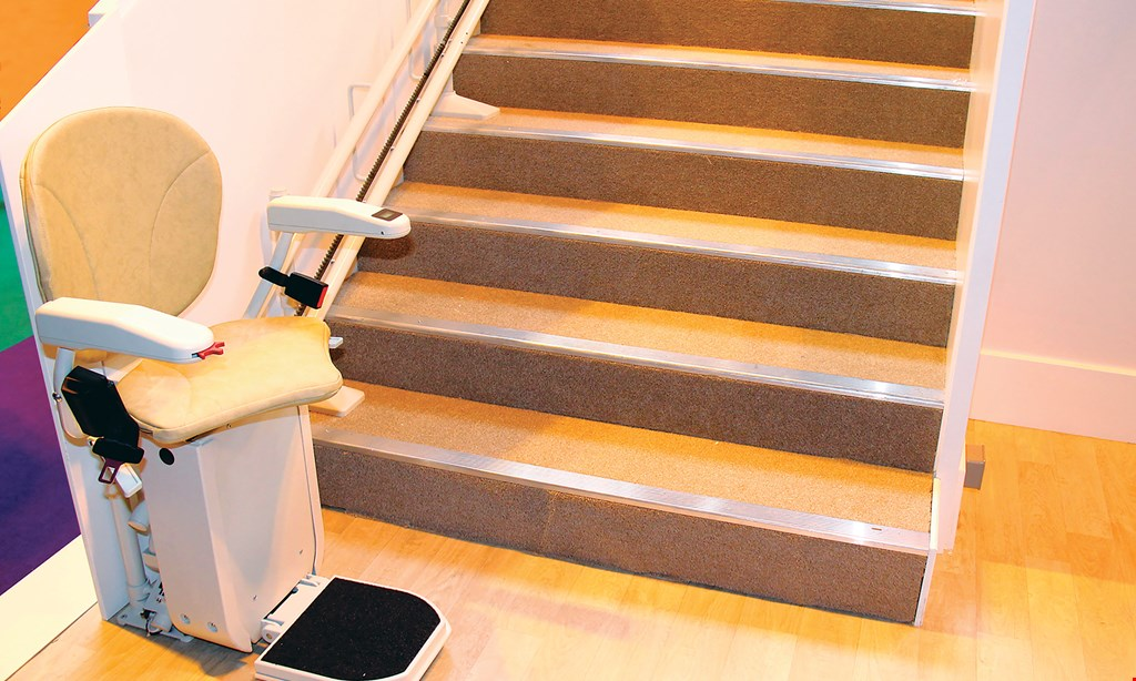 Product image for Freedom Stairlifts We offer a buy back on stairlifts: 1st year 20% with a $195 removal fee OR 2nd year 15% with a $195 removal fee OR 3rd year 10% free removal with return of chair