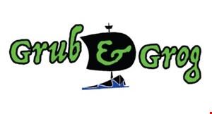 Goin' Gaming / Grub & Grog logo