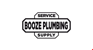 Booze Plumbing logo