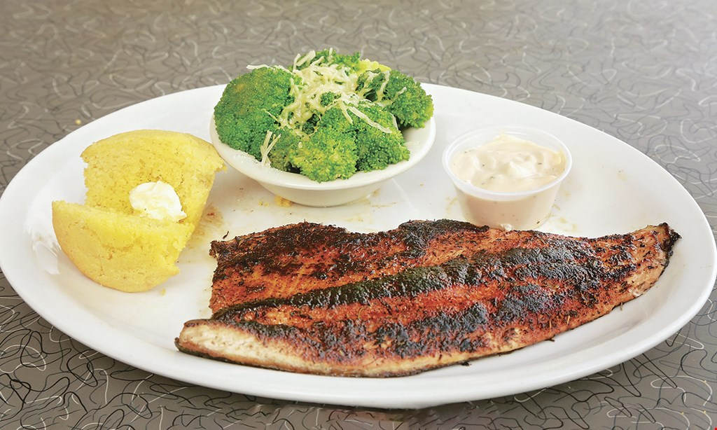 Product image for Soul Fish Wolfchase 10% off any two entrees, dine in only, alcohol not included.