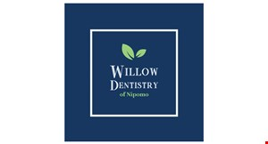 Product image for Willow Dentistry of Nipomo $119 exam, x-rays & cleaning