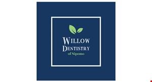 Willow Dentistry of Nipomo logo