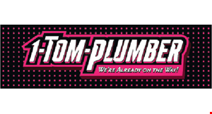 Product image for 1-Tom-Plumber $200 off 50-gallon water heater installed