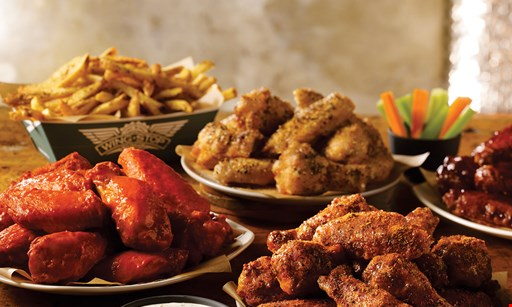 Product image for Wingstop - St. Pete 5 free boneless wings with any wing purchase.
