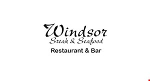 Product image for Windsor Steak & Seafood Restaurant & Bar $10 off any purchase of $50 or more