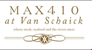 Max 410 at Van Schaick logo