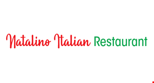 Product image for Natalino Italian Restaurant 20% OFF any purchase 12-3pm.